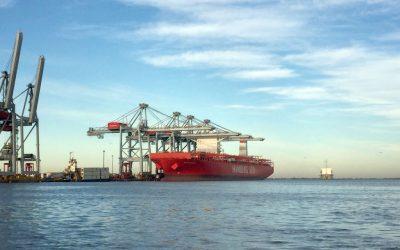 Levantamiento batimétrico del canal de acceso al puerto de Montevideo